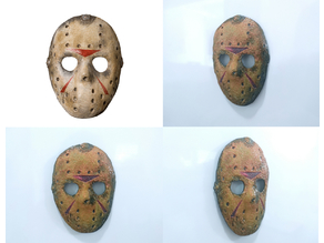 Mascara Jason (viernes 13) iman/magnet