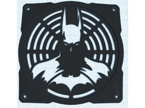 120mm batman fan cover