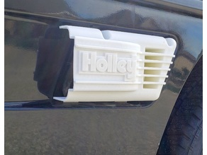 Holley side scoop for Pontiac Fiero