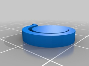 Toothpaste Tube Squeezer with Spiral Lock