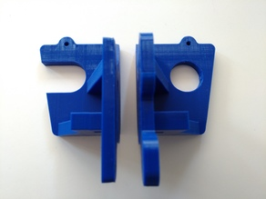 Anet A8 Brackets to Reduce X-Axis Motion which allows the use of a Spool Holder and an additional Frame Stabilizer