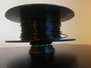 horizontal filament spool holder - ball-bearing filament spool holder