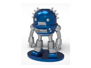 Brave Robot Miniature & Pencil Holder