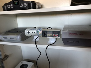 NES / SNES Controller Stand
