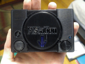PiStation Retropie Case w/ Custom Faceplate