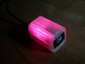 OLED Display and Desk Decoration Cube/ Arduino Nano & neopixel & SSD1306