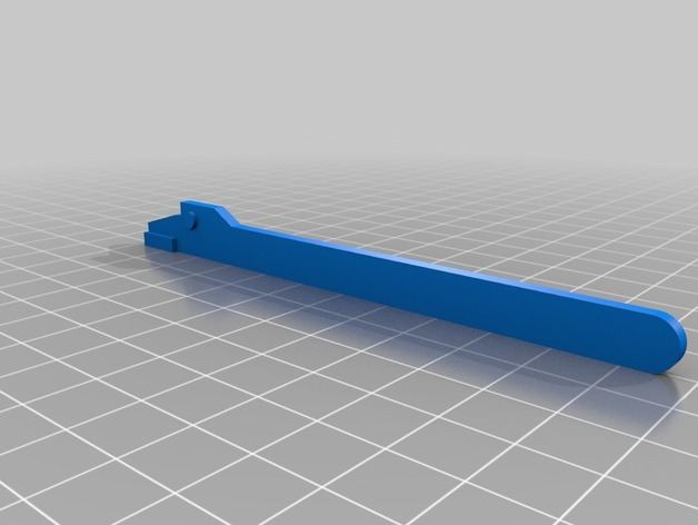 Wooden track Railroad crossing barrier by DenOrc - Thingiverse