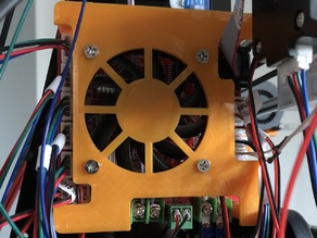 Anet A8 Mainboard Cover with 60mm Fan