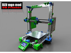BLV mgn12 3D Printer mod for Anet A8 / AM8 / Prusa I3 clone