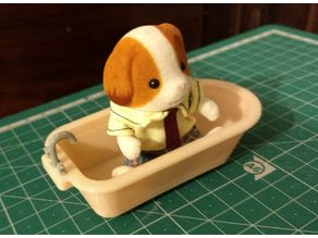 Doll House Bathtub