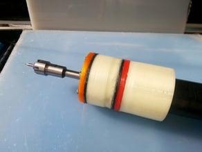 Simple ER11 drill vacuum 52mm turbine