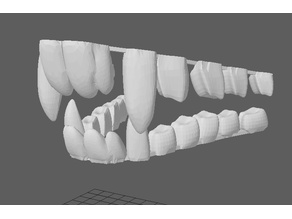 Fursuit teeth - version 1