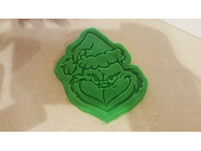 Grinch Christmas Cookie / Play-Doh Cutter