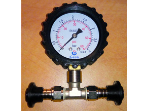 Manometer Protector for GESA pressure gauges