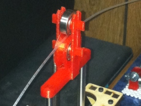 Printrbot Simple Filiment Guide and Z Axis Stabilizer with Bearings