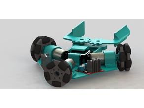3WD omnidirectional Robot Platform