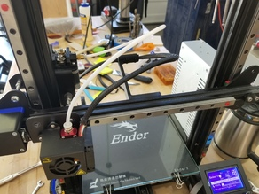 Linear Rail X Axis Mod for Ender 3