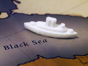 WW1 Ship (Fleet) Pieces for Diplomacy the Board Game