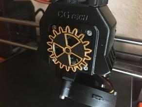 Extruder Rotation Indicator Gear