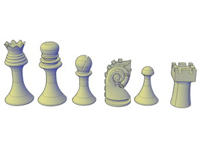 Duchamp Chess Set support free