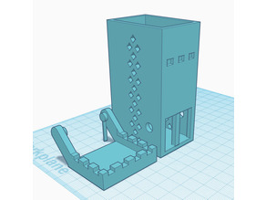 Dice Tower (Supportless)
