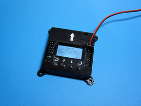 KK2 Flight Controller Case with Mounting tabs