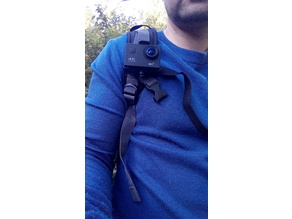 Noname action camera belt clip adater