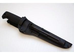 Fire flint holder for Guerrilla knife [M95]