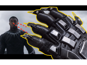 Black Panther Blade Claw