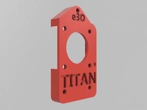 Titan Extruder mount for Rostock Max