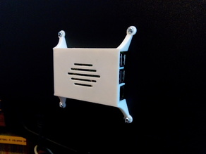 Raspberry pi 2 / B+ vesa mount case