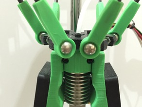Kossel Delta Rod End Arms (using 10mm steel balls)