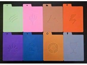 MTG card divider (card types)