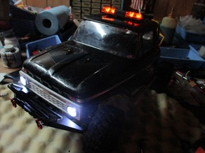 XRAD'S 1960's ish Ford F100 Grill 1/10  Truggy