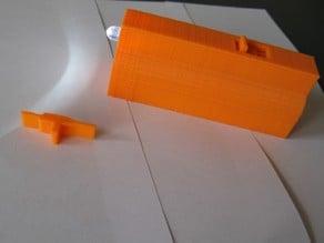 Circuitsonline KifKit Ledlamp behuizing V2 (Enclosure for circuitsonline kifkit led light V2) with slide switch