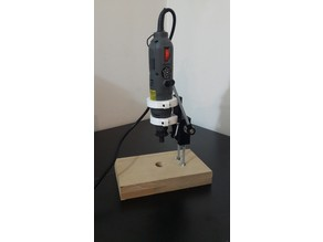 Mini Drill Press for PCB Drill - Dremel version