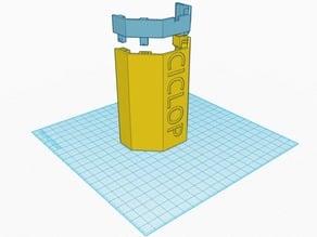 CowTech 3D scanner back cover - M3D mod