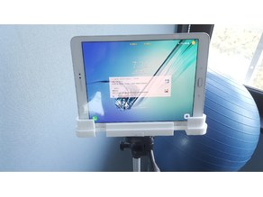 a mount for android-tablet on tripod