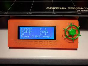 Ship's wheel knob for LCD