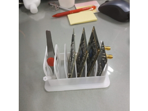 Holders for business cards and tools