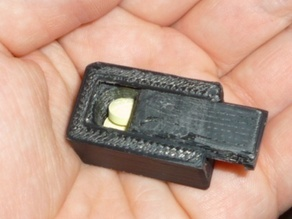 small pillbox with sliding lid