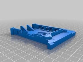 Raspberry pi3 case for 3030 frame