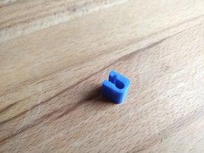 Filament holding clip