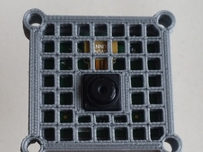 Raspberry Pi Camera case with mounting holes