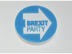 UK Brexit Party badge