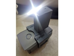 DJI Mavic 2 Bright Forward LED Light with battery and charger