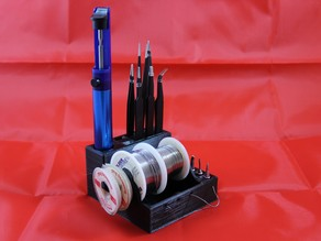 Solder and accessories stand