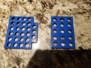 Dishwasher utensil basket insert