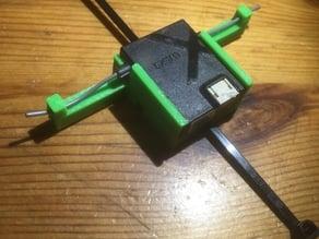 Spektrum satellite holder