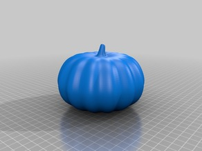Uncarved Pumpkin (Fusion 360 Compatible)